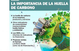 Vídeo del webinar de la importancia de la huella de carbono en la empresa