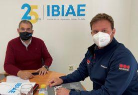 Securitas explica a IBIAE que el servicio de vigilancia realiza una media de 30 kilómetros al día en los polígonos de Ibi
