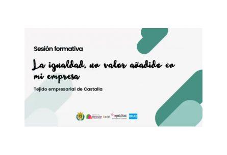 Vídeo del webinar 'La igualdad, un valor añadido en mi empresa'