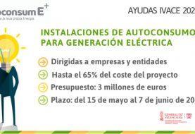 Ayudas a instalaciones de autoconsumo para generación eléctrica