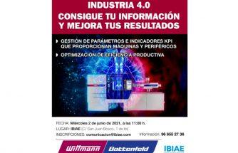Industria 4.0: consigue tu información y mejora tus resultados