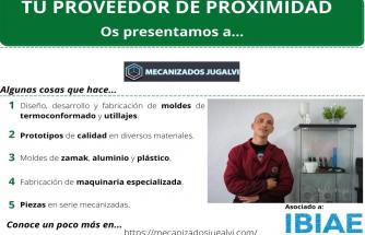 Proveedor de Proximidad: MECANIZADOS JUGALVI