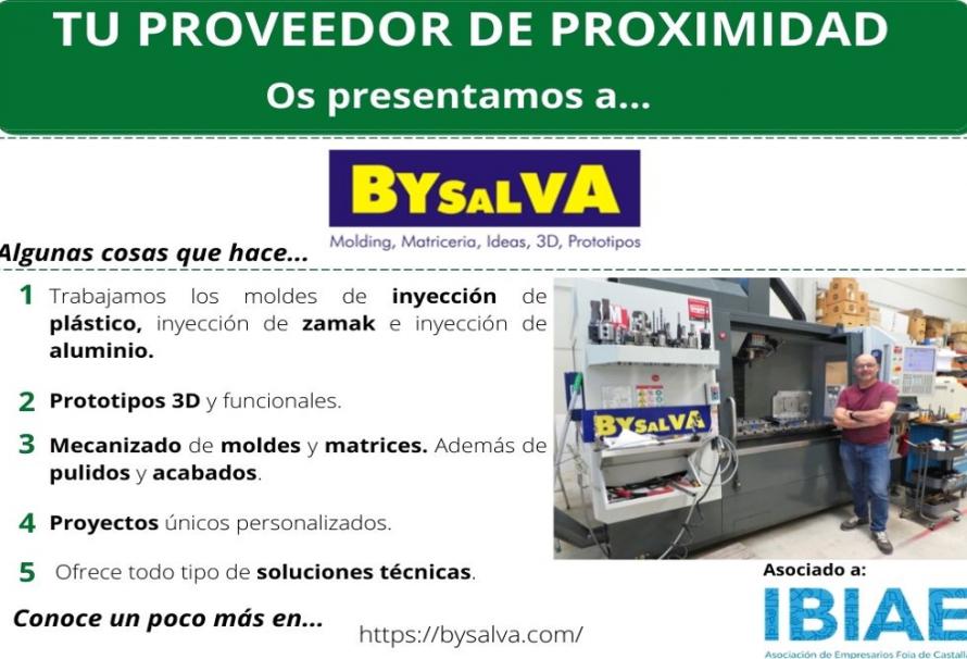Proveedor de Proximidad: BYSALVA
