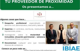 Proveedor de Proximidad: SERVICIOS JURÍDICOS IBENSES