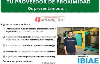 Proveedor de Proximidad: TERMOPLÁSTICOS GARBALL