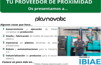 Proveedor de Proximidad: PLASNOVATIC