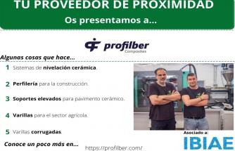 Proveedor de Proximidad: PROFILBER COMPOSITES