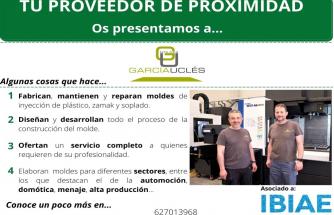 Proveedor de Proximidad: MOLDES GARCÍA UCLÉS
