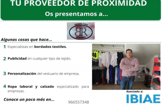 Proveedor de Proximidad: BORDADOS RIBERA