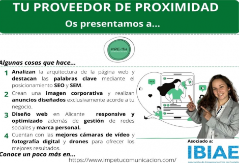 Proveedor de Proximidad: IMPE-TU COMUNICACIÓN