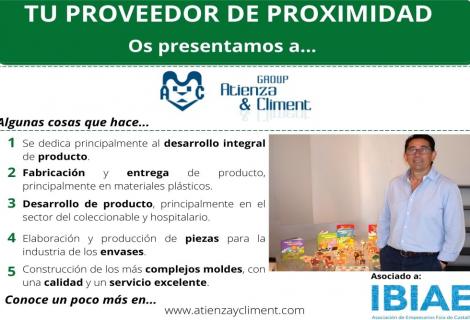 Proveedor de Proximidad: MODELOS ATIENZA & CLIMENT