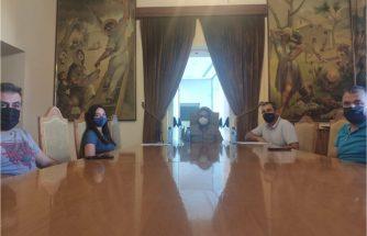 IBIAE se reúne con el alcalde y la concejal de Promoción Económica de Castalla