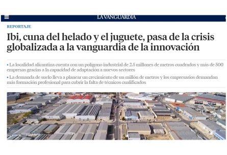 El periódico La Vanguardia pone en valor la capacidad industrial de Ibi