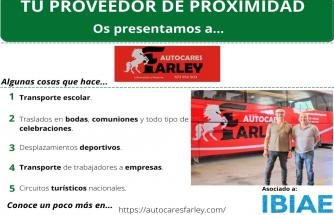 Proveedor de Proximidad: AUTOCARES FARLEY