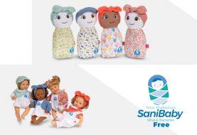 Sanibaby de BERJUAN, primera muñeca virus free del mercado