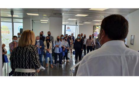 IBIAE asiste a la inauguración de la oficina del Grupo Noa's en Ibi