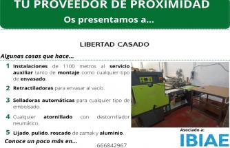 Proveedor de Proximidad: LIBERTAD CASADO