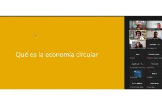 Vídeo del webinar de economía circular