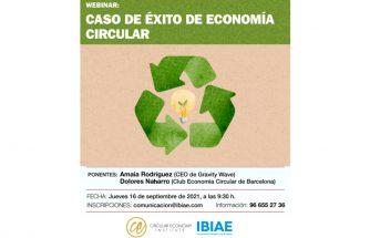 Webinar: caso de éxito de economía circular