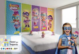 Las muñecas SUPER CUTE de COLORBABY estrenan habitación exclusiva en el Hotel del Juguete