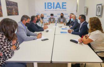 IBIAE recibe al portavoz del PSOE de la Comisión de Industria en el Congreso